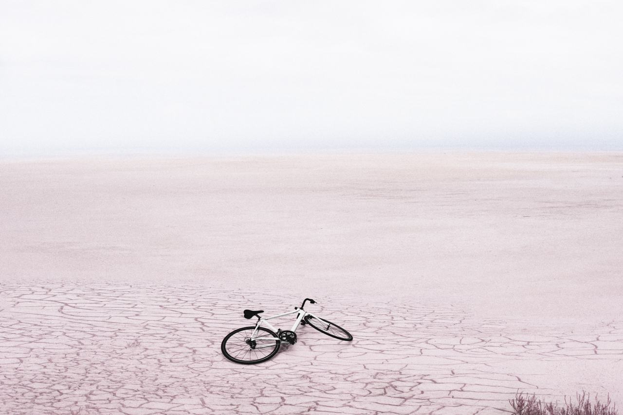 Bike in salt lake