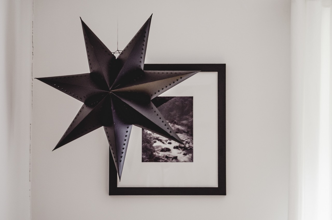 Black Ikea star